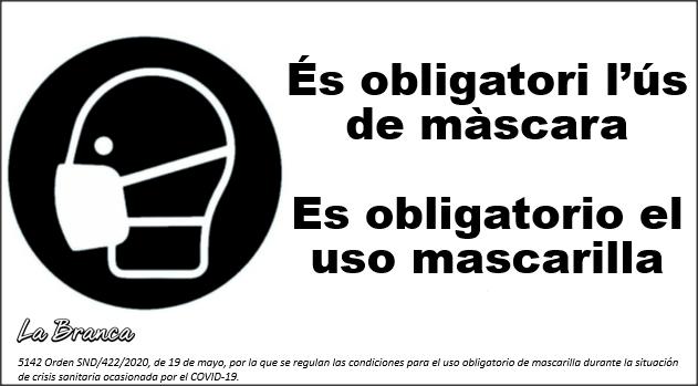 obligación mascarilla